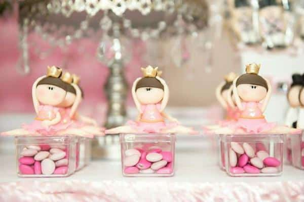 Lembrancinhas caixinhas de doces bailarina