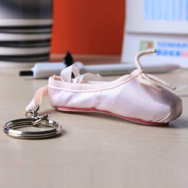 Chaveiro sapatilha bailarina