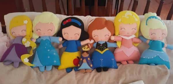 Princesas de feltro