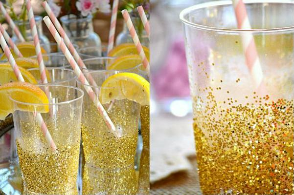 copos brilhantes para noivado