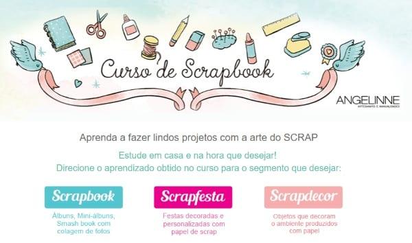 curso de scrapbook digital