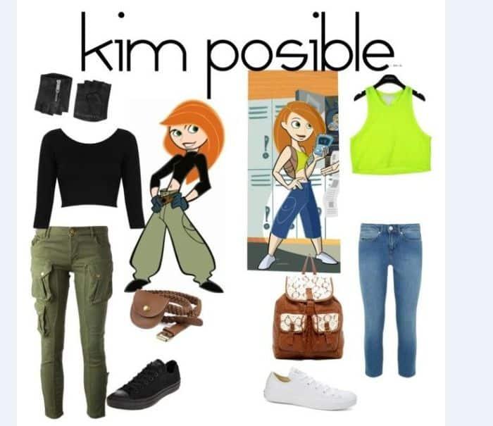 fantasia da personagem kim