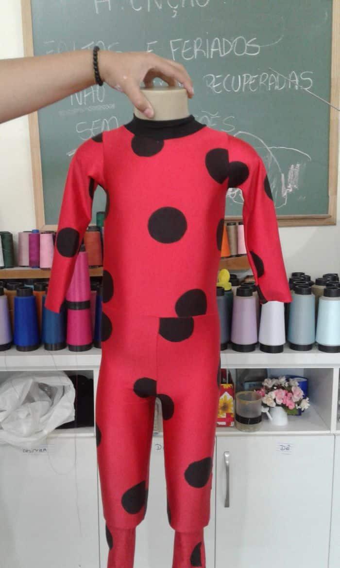 c9af27a99be9a8 Fantasia Ladybug Infantil: Como Fazer e Modelos - Artesanato Passo a ...