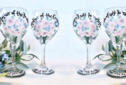 taças decoradas de casamento