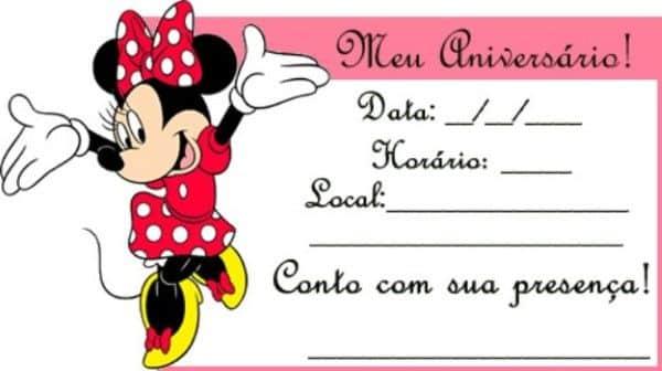 Convite minie online