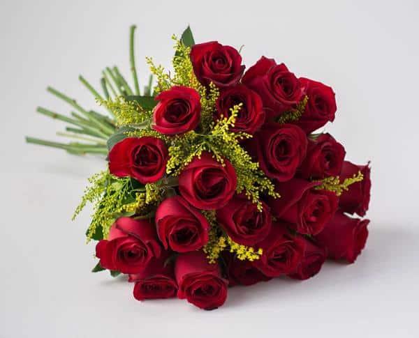 Buque de flores com rosas vermelhas!