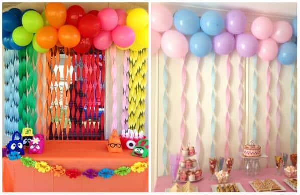 Economize na decoração usando ballões