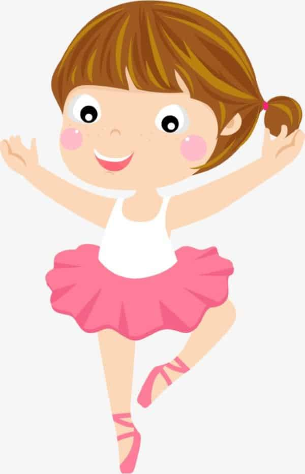 bailarina criança