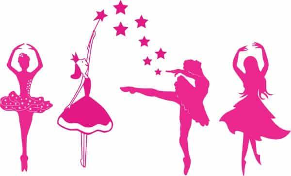 bailarinas vetor