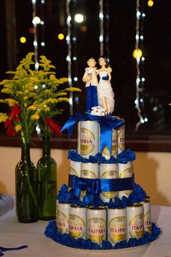 bolo de cerveja para casamento