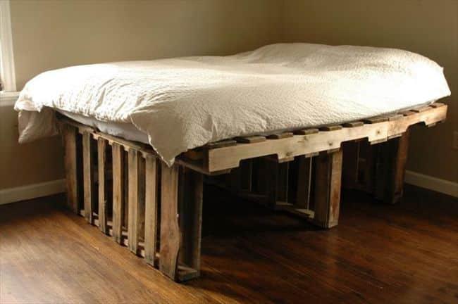 cama alta de solteiro