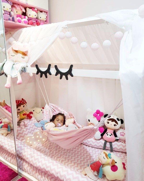cama-montessoriana menina