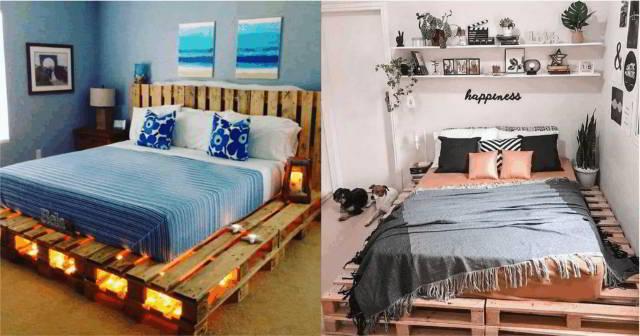 ideias para cama de palete