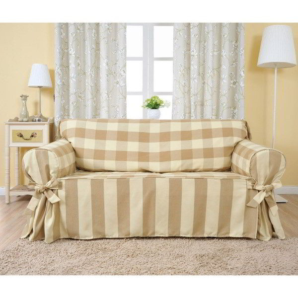 capa de sofá feita em casa