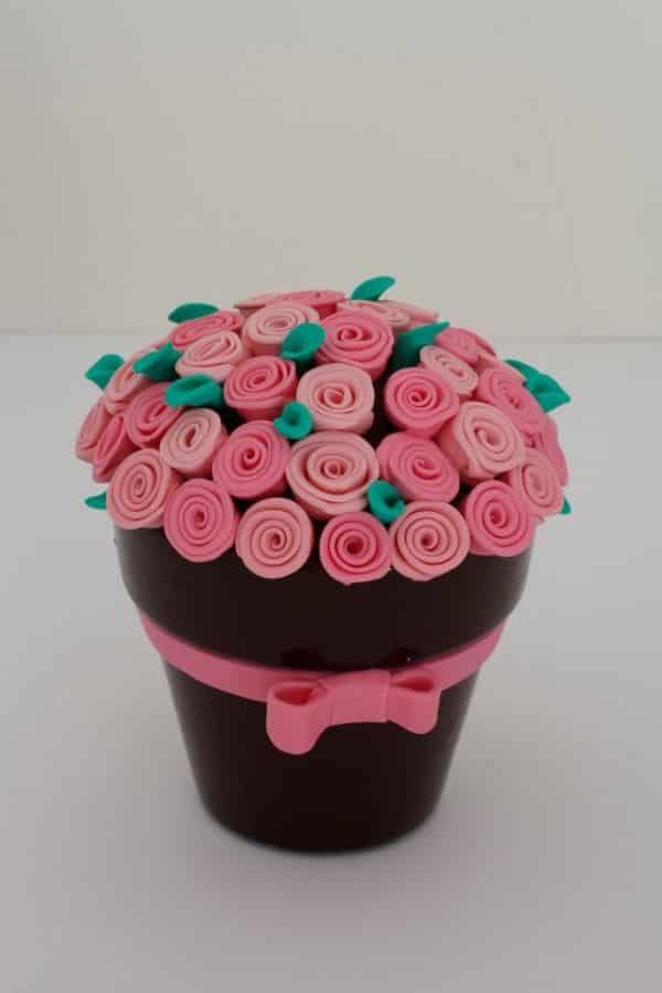 florzinha simples de biscuit