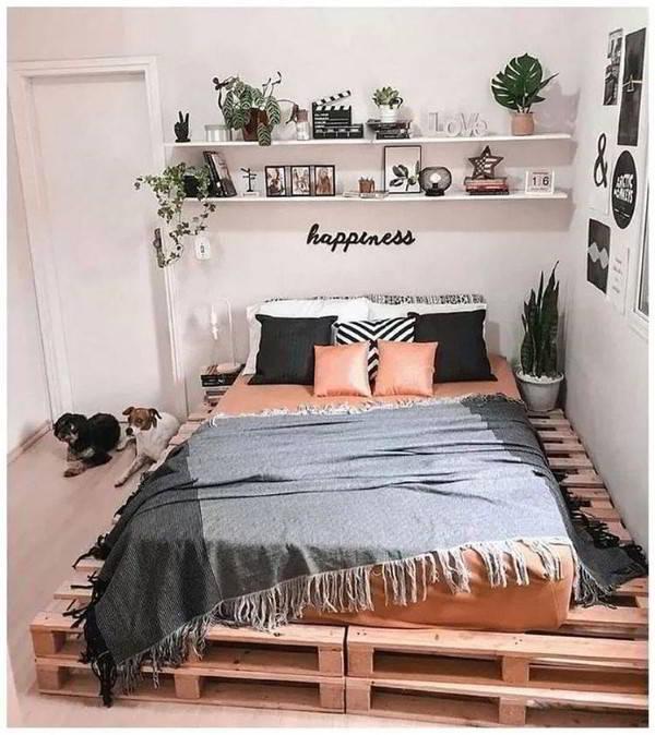 cama de palete para casal