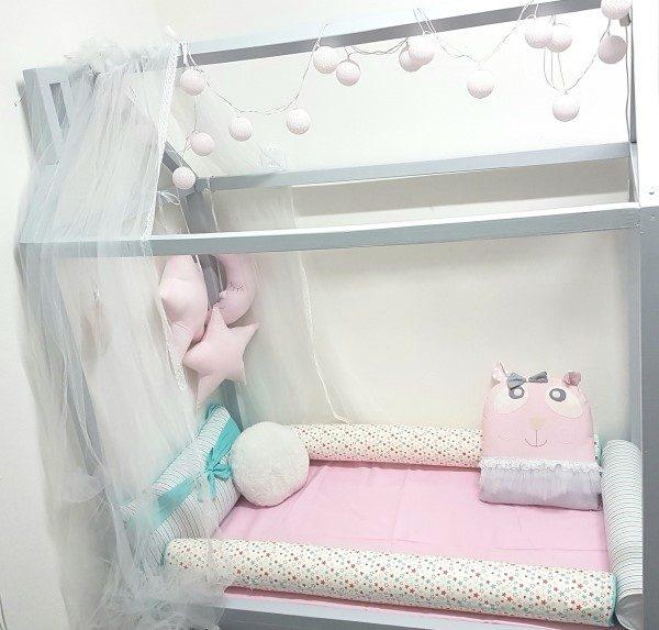 2bebadaa9e kit-cama-montessoriana-menina-rosa Elo7