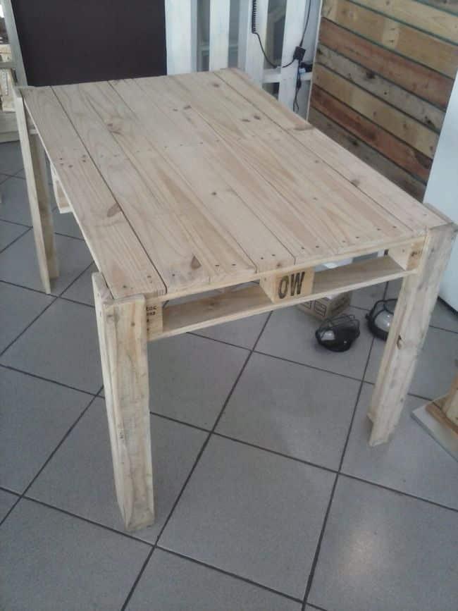 mesa estreita