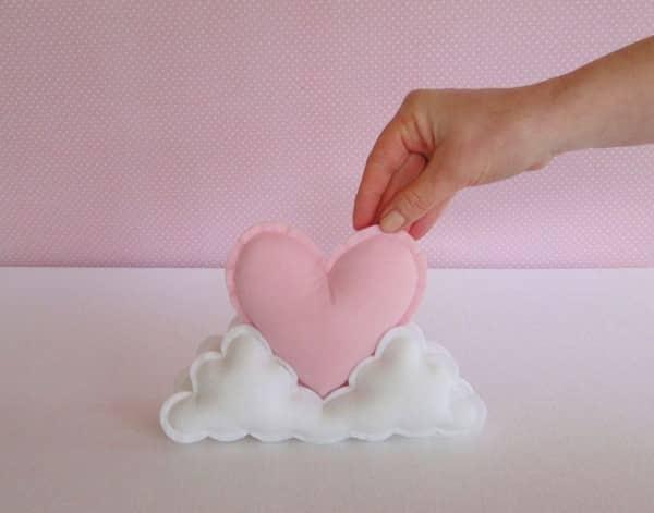 nuvem com coração