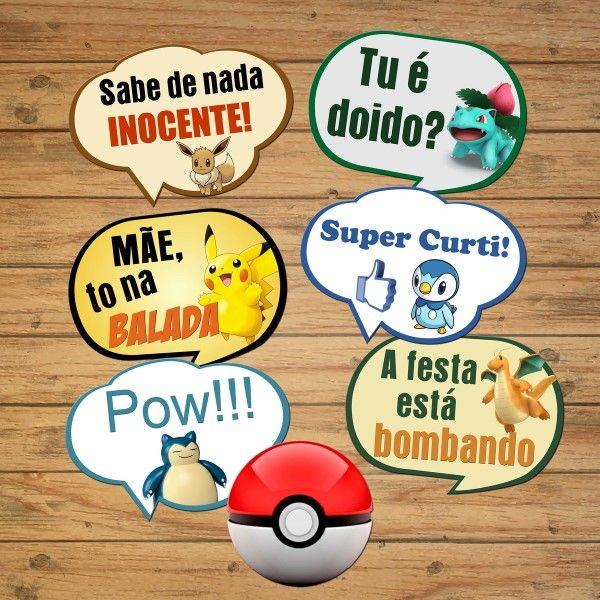 placas divertidas pokemon