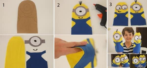 como fazer fantoches