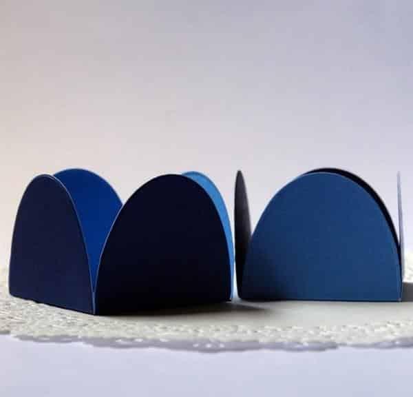 Forminhas de Docinho Azul