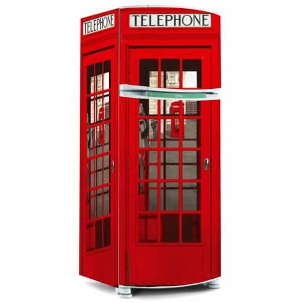 Geladeira Cabine Telefônica