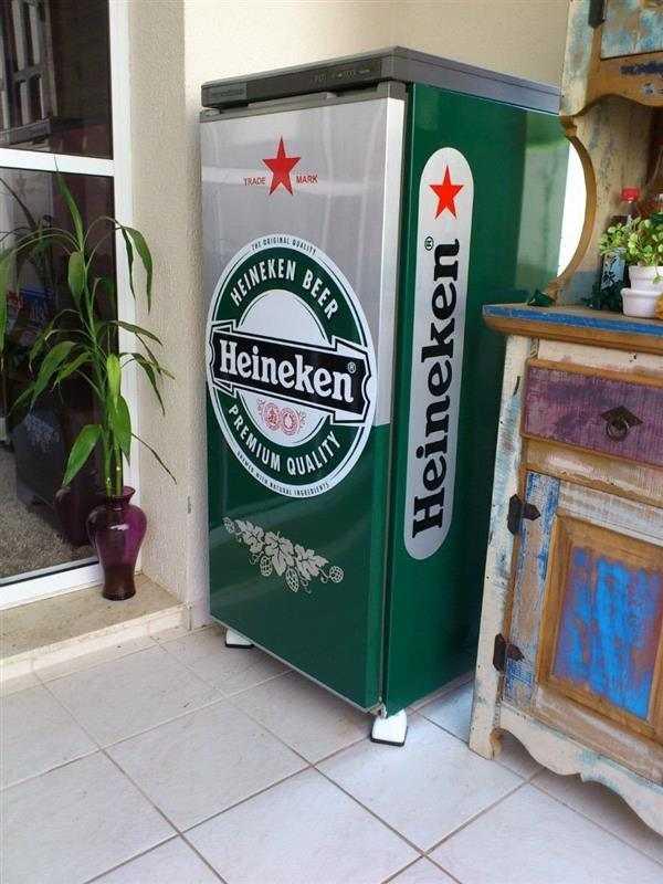 Geladeira Envelopada Heineken