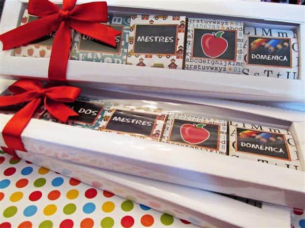 Chocolates Personalizados em Caixa