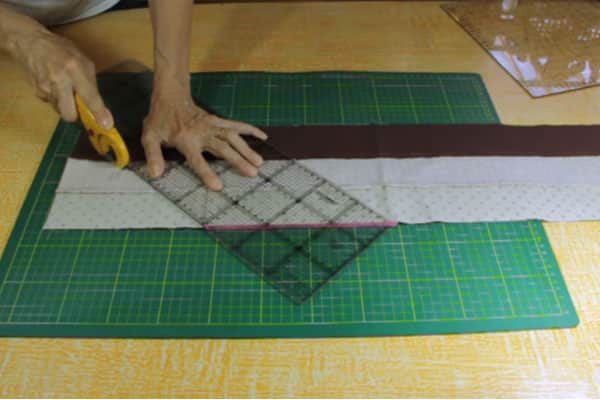 Colcha Patchwork passo a passo 5