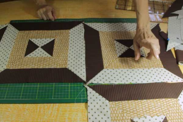 Colcha Patchwork passo a passo 10