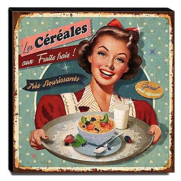 Quadro para Cozinha Vintage