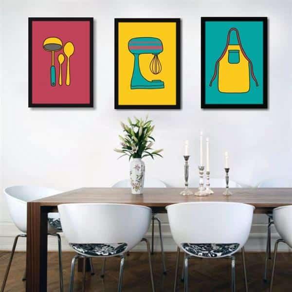 Quadros Decorativos Coloridos