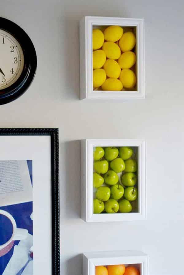 Quadros com Frutas