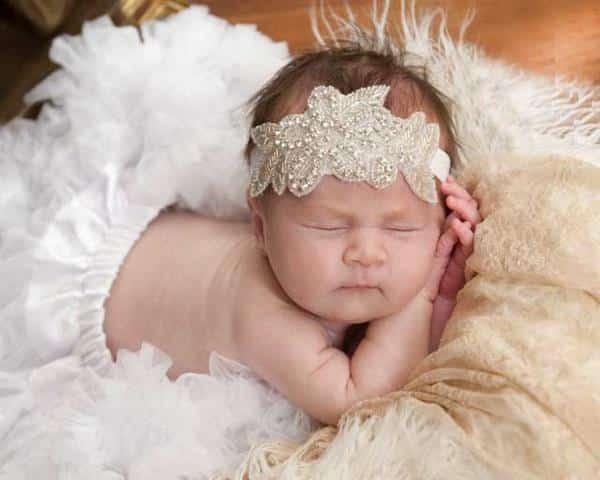 Bebê com Tiara
