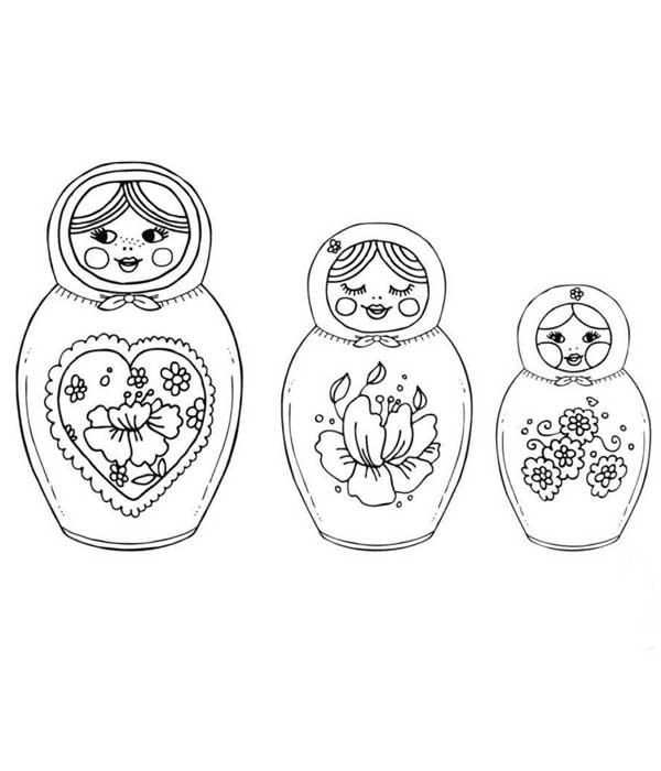 Boneca Para Colorir E Imprimir Desenhos Artesanato Passo