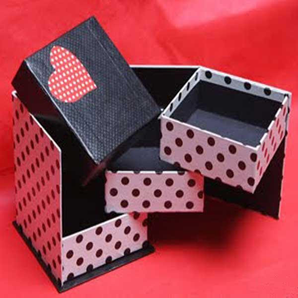Caixas de papelão personalizadas bijuterias