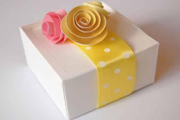 Caixas de papelão personalizadas simples