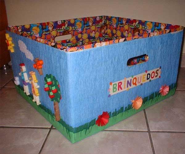 Caixas de papelão personalizadas brinquedo