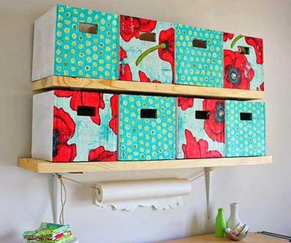 Caixas de papelão personalizadas escritório