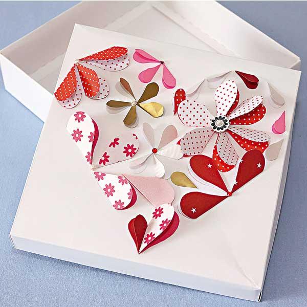 Caixas de papelão personalizadas com embrulho de presente