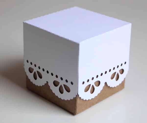 Caixas de papelão personalizadas pequena