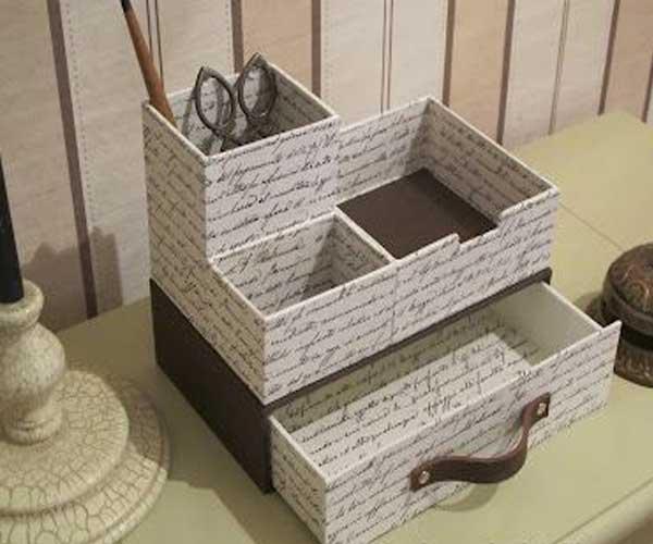 Caixas de papelão personalizadas com puxador