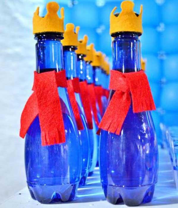 Lembrancinhas do pequeno príncipe garrafa