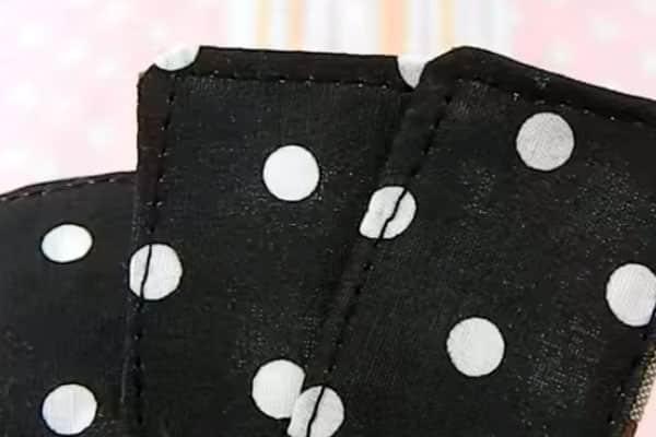 Molde de avental tiras