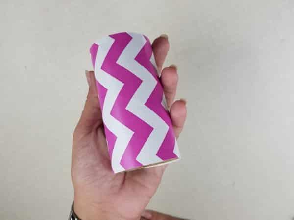 Passo a Passo lembrancinhas com rolo de papel higiênico 4
