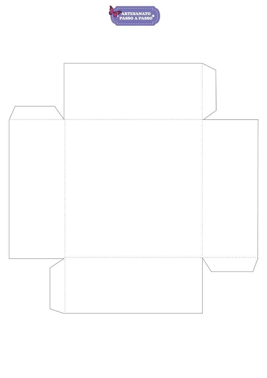 Molde De Caixa De Papel Para Imprimir 6 Modelos Prontos