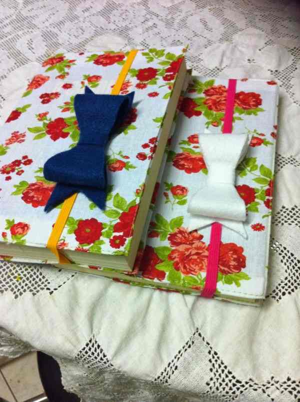 detalhe para cadernos artesanais