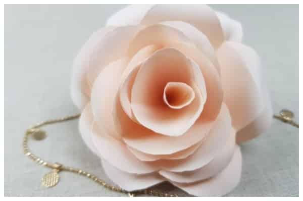 flores de papel resultado