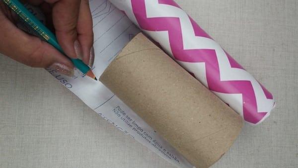 Passo a Passo lembrancinhas com rolo de papel higiênico 1